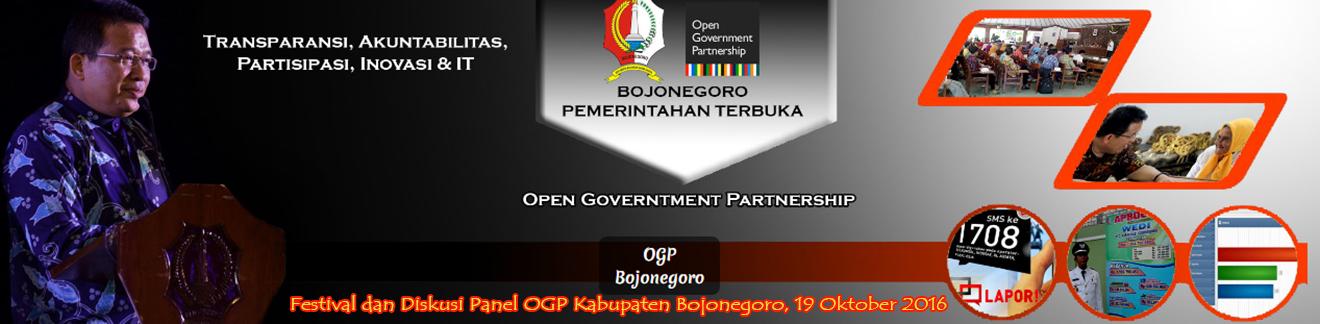 Diskusi Panel OGP<BR>Kabupaten Bojonegoro