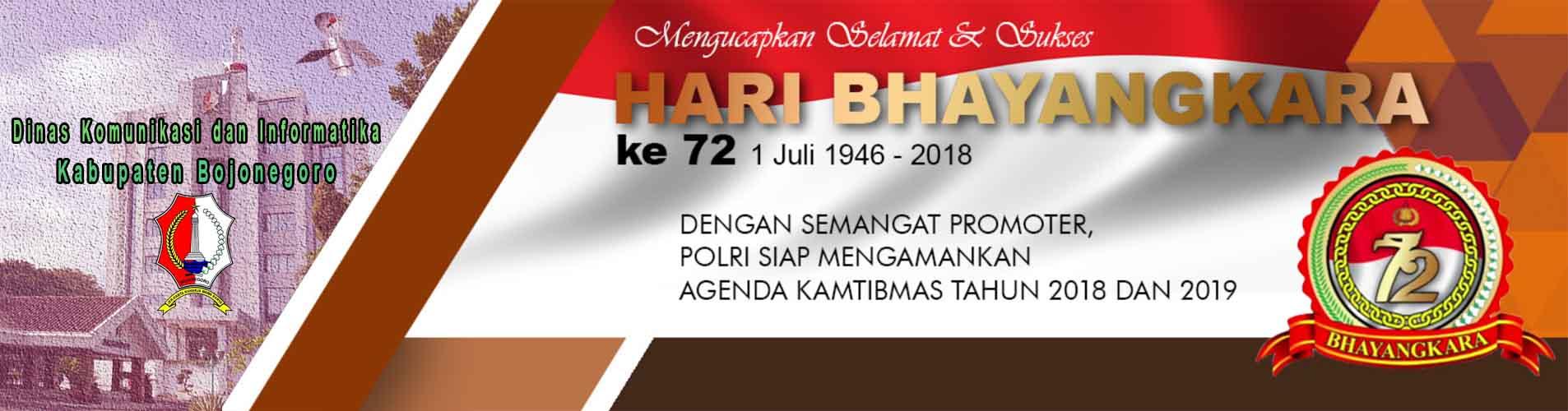 Selamat & Sukses<BR>Hari Bhayangkara ke-72